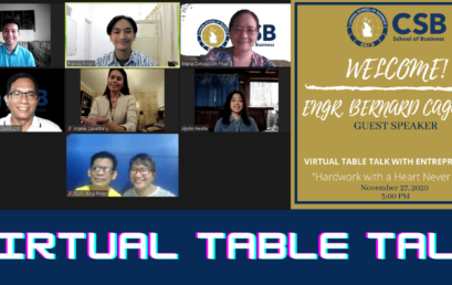 Virtual Table Talk with Entrepreneurs